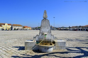 Wasser tanken in Tocha – Portugal