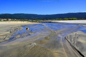 Nicol im Río Cabanas - Praia de Afife – Portugal