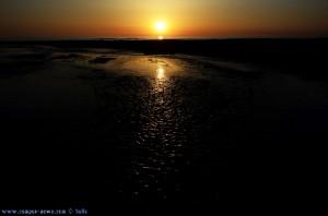 "Sunset at Praia de Afife – Portugal - ""Low Key"""