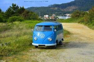 VW-Bus mit Kultstatus - Praia de Afife - Portugal