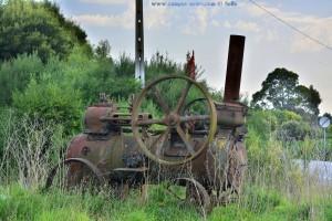 Antikes an der Repsol-Tankstelle in Afife – Portugal