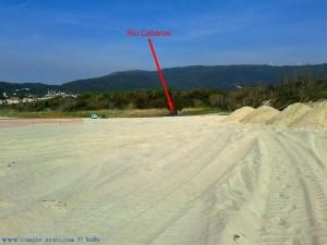 Kein neuer Kanal für den Río Cabanas - Praia de Afife – Portugal