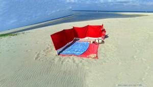 Was das Programm Image Composite Editor manchmal macht - My View today - Praia de Afife – Portugal