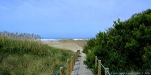 Die spielen noch immer mit Sand - Praia de Afife – Portugal