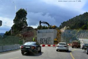 Interessanter Kreisverkehr - kurz vor Moaña – Spain