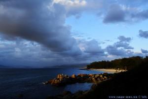 Sunset at Praia de Tulla – Spain