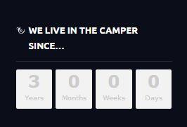 3 Jahre leben im Camper!