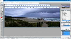 Panorama-Bild nach der Korrektur