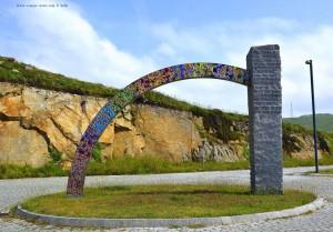 Glorieta (Kreisverkehr) de las Víctimas del Terrorosmo - A Coruña – Spain