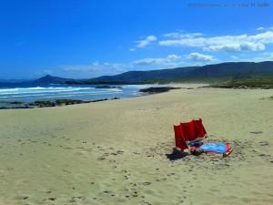 Ganz allein am Traumstrand Praia de Santa Comba – Spain