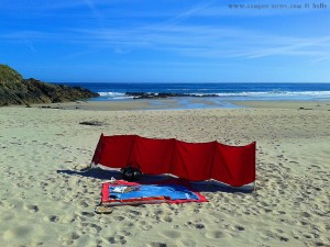 My View today - Praia de Santa Comba – Spain