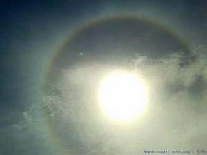 Regenbogen um die Sonne - Praia de Santa Comba – Spain