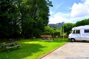 My View today - Picknick-Area in A Casanova de Arriba – Spain
