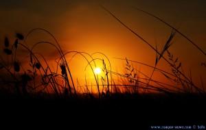 Sunset at Playa de Valdearenas – Spain