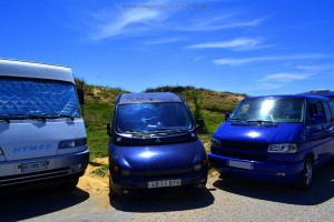 Parking at Playa de Canallave – Spain