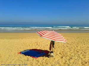 Mein Strandplatz am Playa de Canallave – Spain