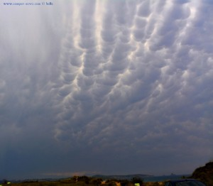 Gewitter im Anmarsch - Playa de Valdearenas – Spain