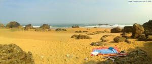 My View today - little Beach at Playa de Canallave – Spain