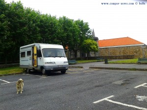 Parking in Area Sosta Camper - Bermeo - Vizcaya - Basque – Spain