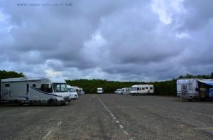 Parking in Area Sosta Camper Municipal – Ondres - France - June 2017
