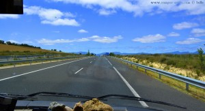 Endlich - der Himmel klart auf - On the Road – Spain