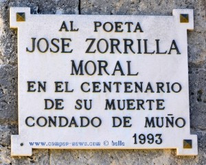 Message at the Ermita de Muño - Spain