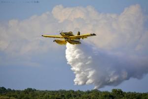 Gobierno de España - Löschflugzeug - Embalse de Valparaíso – Spain