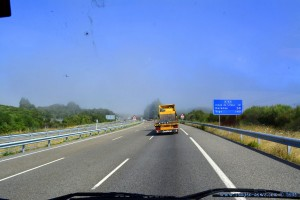 Wir fahren in den Nebel - On the Road – Spain