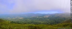 700m über dem Meeresspiegel - der Nebel lichtet sich langsam - on the Road – Spain