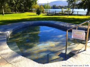 Thermalbecken nur für Erwachsene in Barbantes – Spain