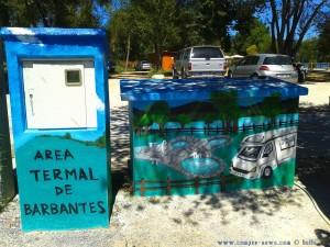 My View today - Area Sosta Camper at the Termal de Barbantes – Spain