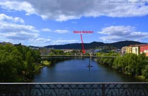 Interessante Brücke in Ourense – Spain