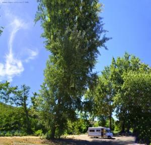 Lunch an der Embalse de San Martiño - A Rúa – Spain