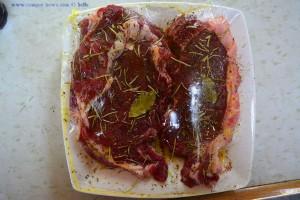 Diese Steaks landen gleich auf dem Grill - Huerta – Spain