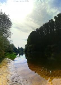 Río Tormes – Spain - Vertikal-Panorama-Bild