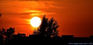 Sunset in Huerta – Spain