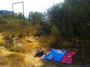 Mein Schattenplatz am Río Tormes – Spain