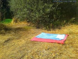 Mein Schattenplatz am Nachmittag am Río Tormes – Spain