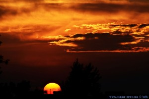 Sunset in Huerta – Spain