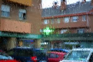 Rain in Los Molinos – Spain