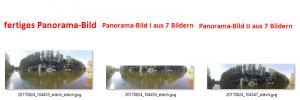 Panorama-Bild mit Image Composite Editor in drei Schritten