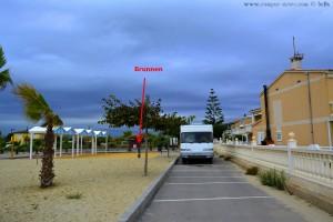 Wasser tanken am Playa Pla de la Torre - Almassora – Spain