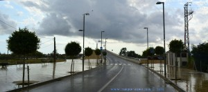 Brücke über den Ebro in Deltebre – Spain