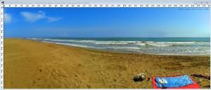 Panorama-Bild nach der Bearbeitung mit PhotoShop – der Horizont schnurgerade!