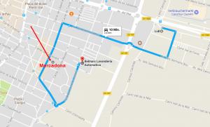 Lidl – Mercadona und Laundry in Castelló de la Plana
