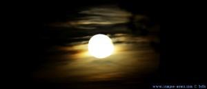 Mondaufgang in Figueres – Spain
