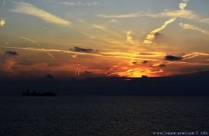 Sunset in Genova – Italy