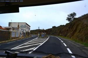 """Der verlassene Grenzübergang - """"Coll dels Belitres"""" - Cerbère France - Portbou Spain"""