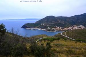 """Der erste Ort in Spanien – nach dem Grenzübergang """"Coll dels Belitres"""" - Portbou Spain"""