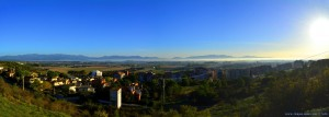 My View today - Figueres in the Fog – Spain